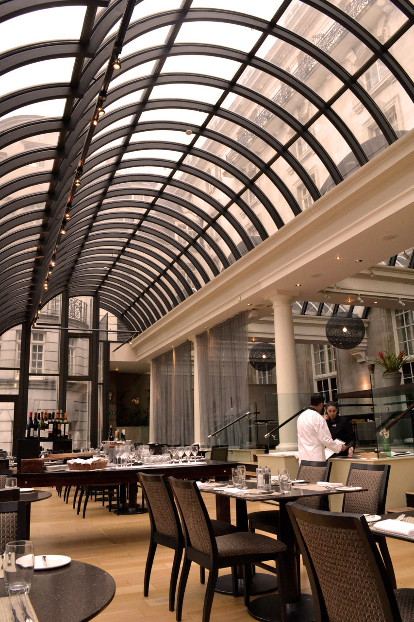 Le m ridien piccadilly s terrace grill bar miss foodie for The terrace restaurant and bar
